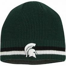 Michigan State Spartans Embroidered Reversible Beanie Hat