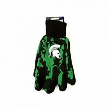NCAA Michigan State Spartans Team Color Camo Utility Gloves