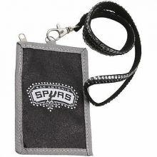 San Antonio Spurs Beaded Lanyard I.D. Wallet