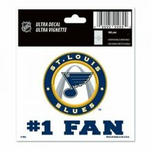 """St. Louis Blues Multi-Use Decal, 3"""" x 4"""" Decal"""