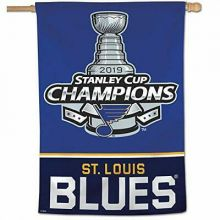 "St. Louis Blues 2019 Stanley Cup Champions House Flag 28"" x 40"""
