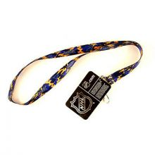NHL St. Louis Blues Team Color Camo Lanyard Key Chain