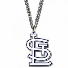 "St. Louis Cardinals 18 inch ""STL"" Logo Chain Necklace"