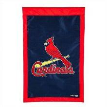 """St. Louis Cardinals 28"""" x 44"""" Applique House Flag"""