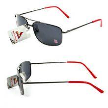 St. Louis Cardinals Small Metal Frame Sunglasses