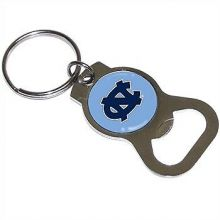 North Carolina Tar Heels Bottle Opener Keychain