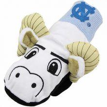 North Carolina Tar Heels Knit Mascot Texting Mittens