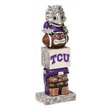 Texas Christian University (TCU) Horned Frogs Tiki Totem