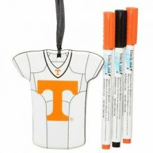 Tennessee Volunteers Personalizable Jersey Ornament with Team Color Markers