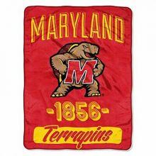 Maryland Terrapins Varsity Super Plush Fleece Throw