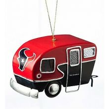 Houston Texans  3-D Tin Camper Ornament