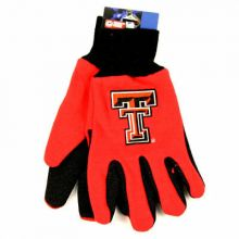Texas Tech Red Raiders Team Color Utility Gloves