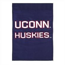 "Uconn Huskies Double Sided 28"" X 44"" Applique Flag"