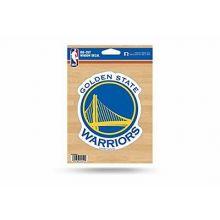 """Golden State Warriors 5.75"""" X 7.75"""" Die-Cut Window Decal"""