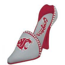 Washington State Cougars Wine Shoe Bottle Holder