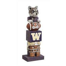 Washington Huskies Tiki Totem