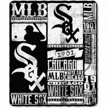 "Chicago White Sox 50"" x 60"" Established Fleece Throw Blanket"