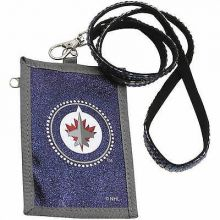 Winnipeg Jets Beaded Lanyard I.D. Wallet