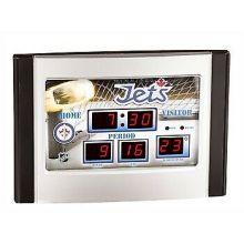 Winnipeg Jets Scoreboard Desk Clock