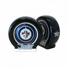 Winnipeg Jets Sculpted Ceramic Salt and Pepper Shakers