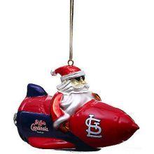 New York Yankees Santa on a Rocket