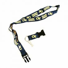 NCAA Georgia Tech Yellow Jackets Double Sided Team Color Breakaway Lanyard Key C