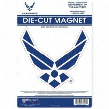 """United States Air Force Perfect-Cut Color Decal 8"""" X 8"""""""