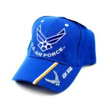 United States Air Force Blue Aim High Style - Yellow/White Pinstripes Hat