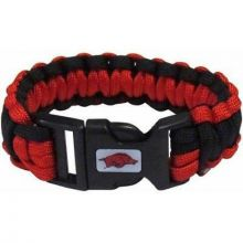 Arkansas Razorbacks Survivor Cord Bracelet