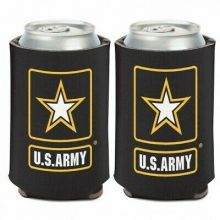 United States Army 2 Sided 12oz Can Cooler