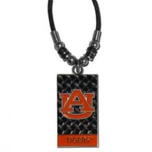 Auburn Tigers Diamond Plate Rope Necklace, 20-Inch