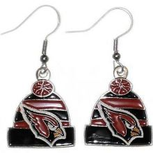 Arizona Cardinals Beanie Style Dangle Earrings