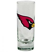 Arizona Cardinals Frosted 2 oz Cordial Shot Glass