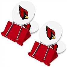 Arizona Cardinals 2 Pack Multi Purpose Utility Clips