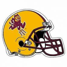 "Arizona State Sundevils 6"" X 7"" Car Magnet"