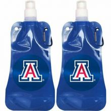 Arizona Wildcats 16oz Foldable Water Bottle