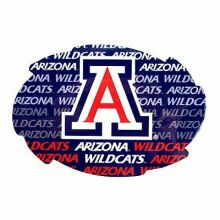 "Arizona Wildcats 5"" x 6"" Repeating Design Swirl Magnet"