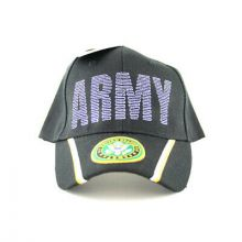 United States Army Script Hat With Star Logo Bill Hat