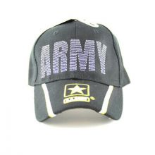 United States Army Seal With Shadow Caesar Bill Hat