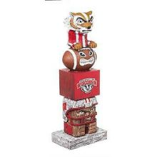 Wisconsin Badgers Tiki Totem