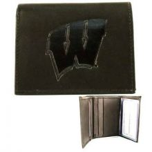 Wisconsin Badgers Leather Wallet