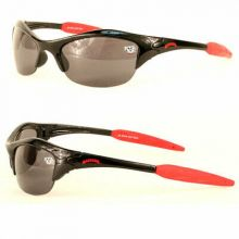 Wisconsin Badgers Blade Lens Wing Sunglasses