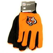 Cincinnati Bengals Black Leather Wallet