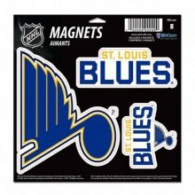 "NHL St. Louis Blues Prismatic Decal 4"" x 11"""