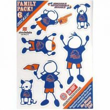 Boise State Broncos Family Decals, Small