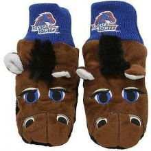 Boise State Broncos Knit Mascot Texting Mittens