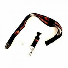 NCAA Oregon State Beavers Zebra Print Breakaway Lanyard Key Chain