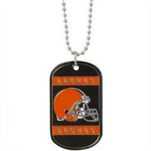 Cleveland Browns Dog Tag Necklace