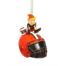 Cleveland Browns Painting Elf Ornament