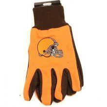 Cleveland Browns Team Color Utility Gloves